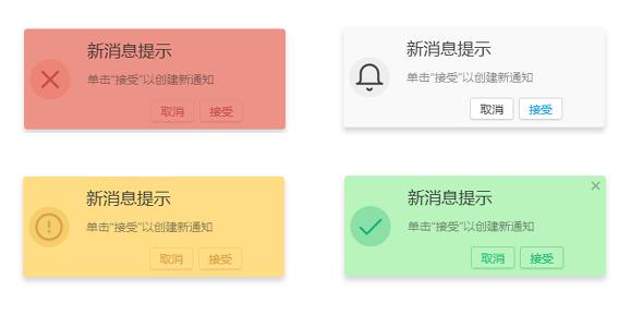 naranja.js消息提示通知插件