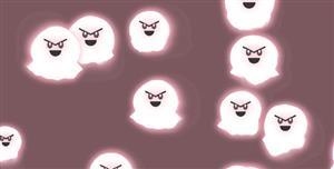 p5.js幽灵动画特效代码