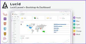 Laravel+Bootstrap管理后台系统模板源码
