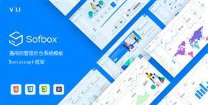 响应式管理后台模板UI/UX页面