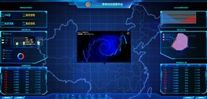 警务综合监控管理平台HTML模板