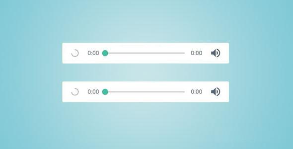 HTML5迷你音频播放器插件