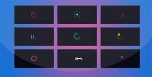 15种纯css3 loading加载动画特效