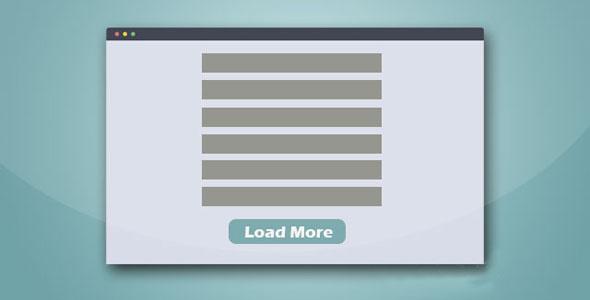 jquery点击加载更多内容插件