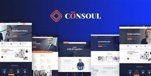 大气响应式商业咨询公司HTML5模板