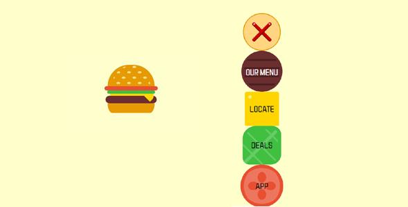 3d汉堡菜单点击展开菜单