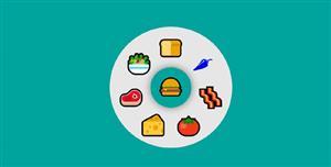 css3汉堡菜单周围发散菜单