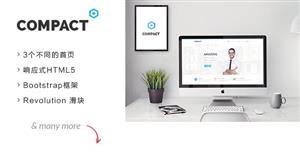 企业网站Bootstrap框架HTML模板