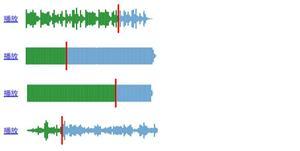 可视化html5音频音阶播放特效