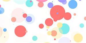 CSS3冒泡变大动画背景特效