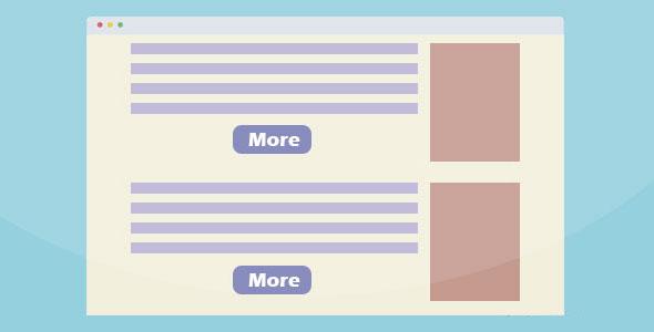 jQuery显示更多内容插件带动画