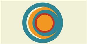 canvas圆环跟随鼠标html5动画