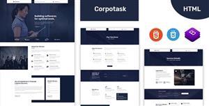 简约大气Bootstrap企业网站模板
