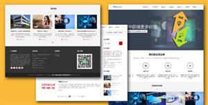 响应式互联网技术信息化企业网站模板