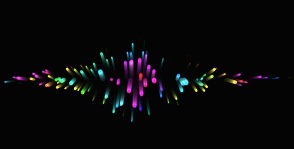 canvas发散的粒子h5动画特效
