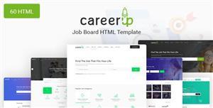 专业的Bootstrap招聘求职找工作网站模板