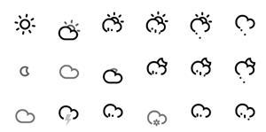 天气icon小图标svg动画特效代码