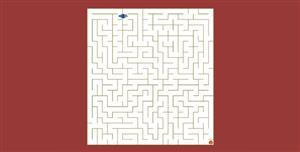 js小鸟走迷宫小游戏代码