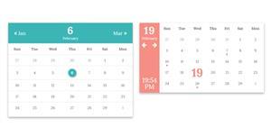 bootstrap日历和弹窗元素样式