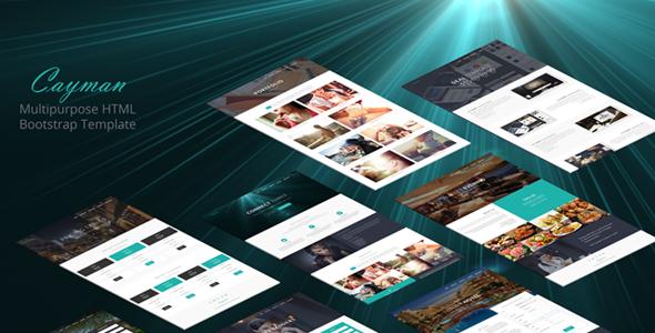 多概念炫酷粒子企业网站响应html模板