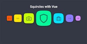 Squircles和Vue安卓手机图标样式