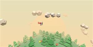 ThreeJS飞机地球3D场景动画