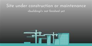 工地建设动画网页建设中特效
