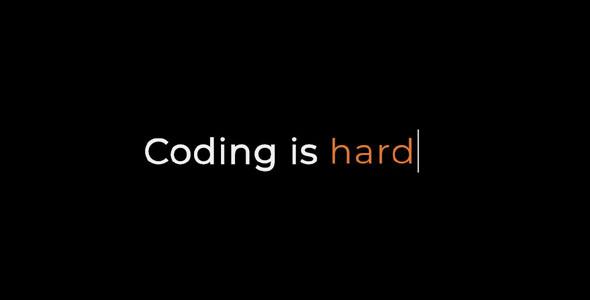 JS打字机特效光标动画