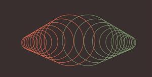 纯css3很多圆圈变形动画特效