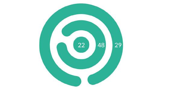 创意SVG环形时钟特效