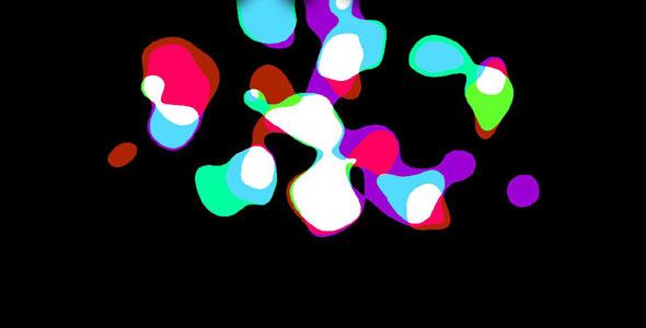 纯css3摇摆的彩色光斑动画