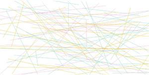 杂乱的线条canvas特效代码