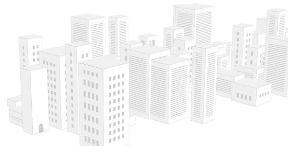 jQuery城市楼房动画特效
