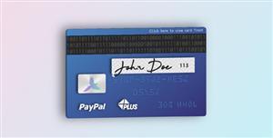 jQuery+SVG立体信用卡3D旋转特效