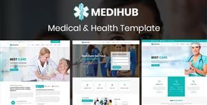 简单的HTML5医疗与健康网站模板