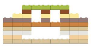 JS变色的乐高积木