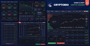 炫酷HTML5加密貨幣交易平臺模板