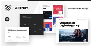 响应式创意机构设计师HTML模板