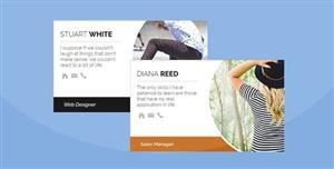 CSS3卡片样式个人头像信息