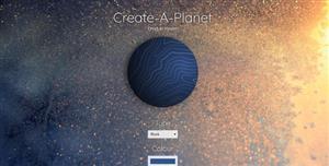 Js星球生成器自定义行星样式
