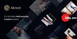 黑色风格企业工作室个人HTML网站模板