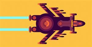 宇宙飞船特效纯CSS代码