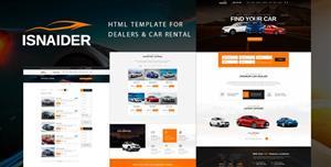 响应式汽车经销商网站Bootstrap模板社区