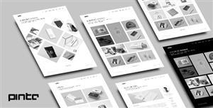 灰色风格作品集网站Bootstrap模板