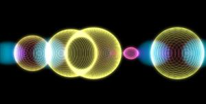 HTML5镂空球体变大变小动画特效