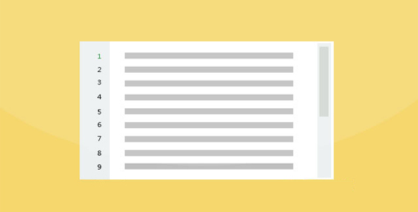 jQuery添加Textarea行号插件