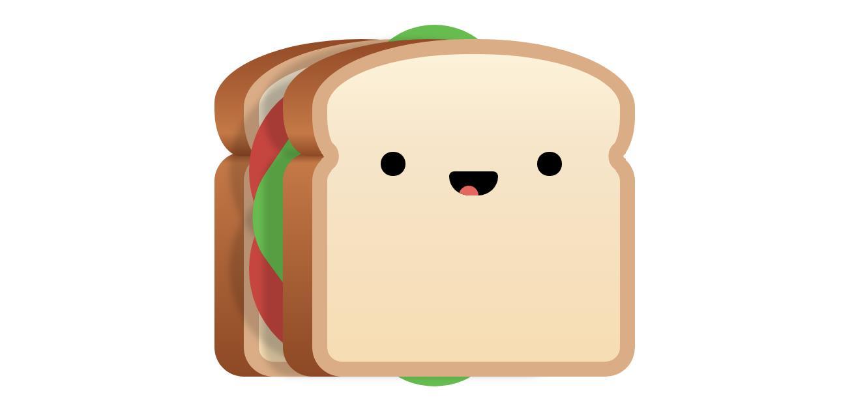 纯css3卡通吐司面包带表情动画源码下载