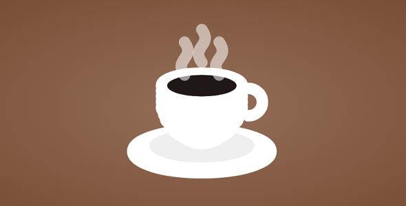 p5js咖啡杯冒热气特效源码下载