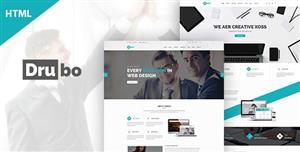 响应式多用途公司业务网站HTML模板