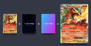 口袋妖怪卡片进化js特效
